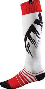 2015 Fox Racing Mens Coolmax Savant Thick Socks (l, Red)