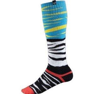Fox Racing Fri Forzaken Thick Socks - Small/black/red