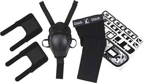 Ossur CTi Motocross MX Kit v2 - for CTi Knee Brace - Single Set Includes Patella Protection Cup Gear Guards Under-Sleeve and Sticker Sheet Medium