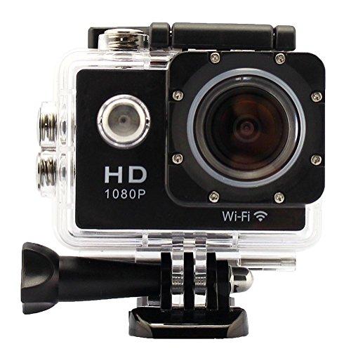 Lelec Wifi Full Hd 1080p Waterproof Helmet Sports Camera 12mp #h01041