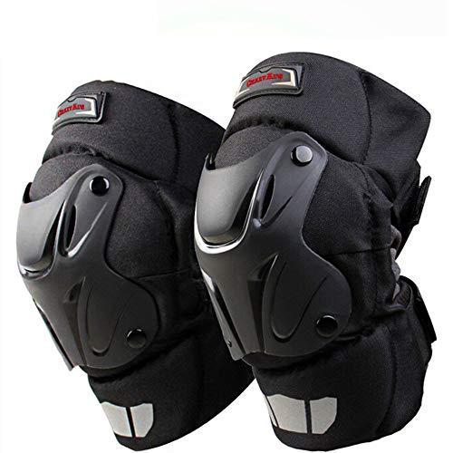 CRAZY ALS CAK Motorcycle Motocross Racing Knee Guards Pads Braces Protective Gear Black