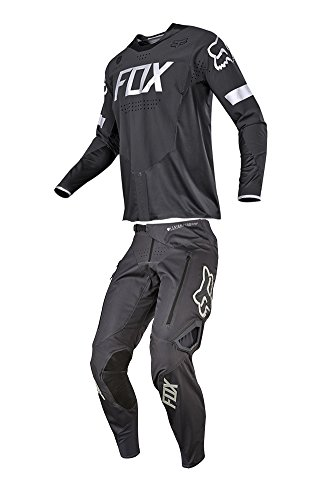Fox Racing 2018 Legion Combo Jersey Pants Charcoal Mens ATV MX Offroad Dirtbike Motocross Riding Gear