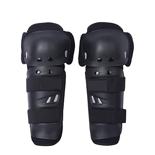 Adult KneeShin Guard Motocross Body Protection Motorcycle Knee Protector Black