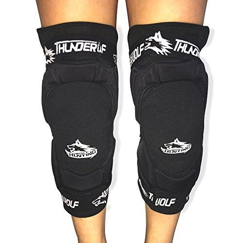 Huntingwolf Racing Knee Guards MTB Motorcycle Motocross Knee Braces - KN03 KN03 Knee Guards