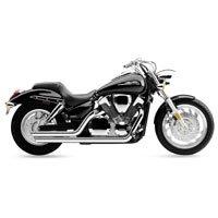 02-04 HONDA VTX1800C Cobra Speedster Slashdown Exhaust