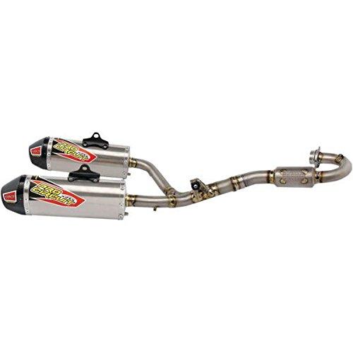 Pro Circuit Ti-6 Titanium Dual Honda Exhaust System-Honda-CRF 250R-16-17
