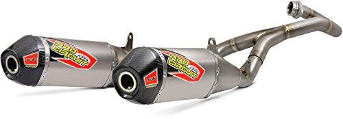 Pro Circuit Ti-6 Titanium Dual Honda Exhaust System-Honda-CRF 450R-17-18