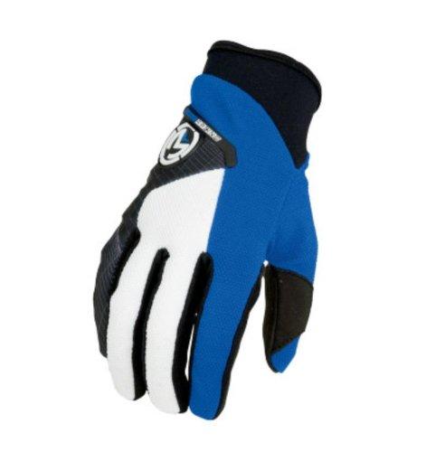 Moose Racing Qualifier 14 Gloves  Gender MensUnisex Distinct Name Blue Primary Color Blue Size Lg 3330-2688