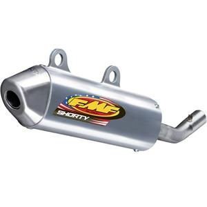FMF Powercore 2 Shorty Silencer - Silver