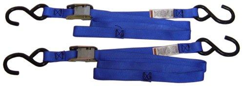 Ancra 40888-34-04 Blue Original Premium Cam Buckle Tie Down 8 Pack