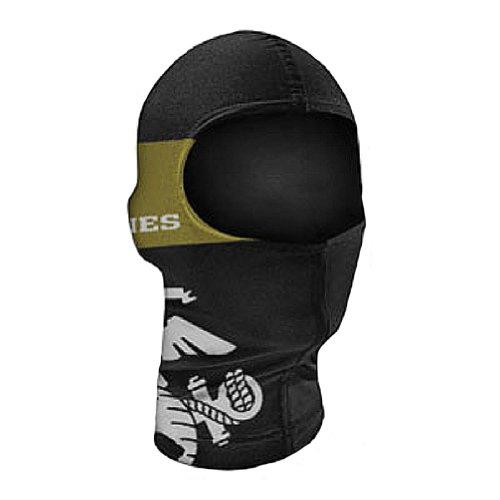 Marine Corps Dual Crest Nylon Motorcycle Balaclava Face Mask