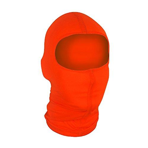 Zan Headgear Wbn142, Balaclava, Nylon, High-visibilty Orange