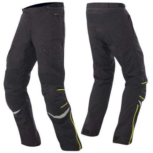 Alpinestars New Land Gore-tex Pants , Gender: Mens/unisex, Distinct Name: Black/fluorescent Yellow, Primary Color