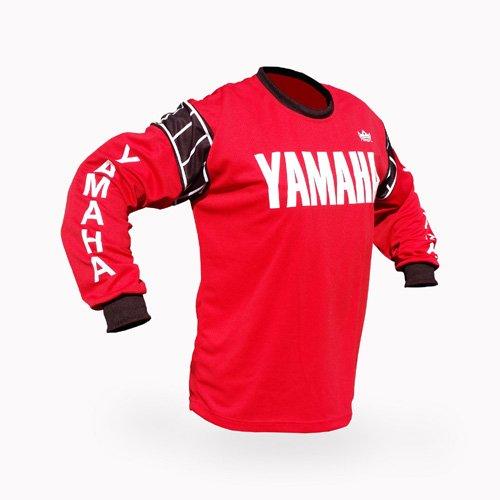 Reign VMX Yamaha Vintage Style Red Motocross Jersey - Size SM
