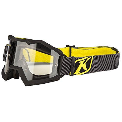 Klim Viper Fade Black Clear Lens Mens Motocross Goggles