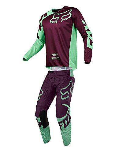 Fox Racing 2018 180 Race JerseyPants Adult Mens Combo Offroad MX Gear Motocross Riding Gear Green