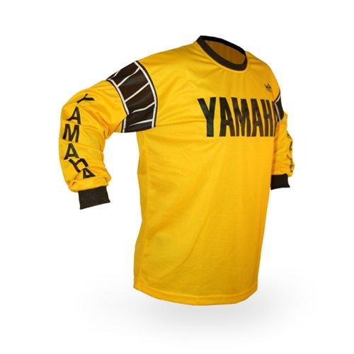 Reign VMX Yamaha Vintage Style Motocross Jersey - Size Large