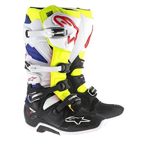 Alpinestars Tech 7 Mens Motocross Boots - YellowBlue - 10