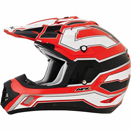 AFX FX-17 Works Mens Motocross Helmets - Orange - Small