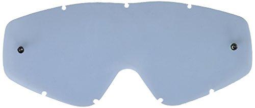 EKS BRAND Unisex-Adult Single Pane GOX MX Motorcross Goggle Replacement Lens Smoke One Size