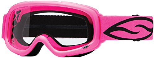 Smith Optics Gambler MX Motocross Goggles Bright Pink FrameClear Lens