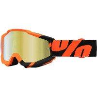 100 MX ATV Motocross Goggles Accuri Wildblast Mirror Lens