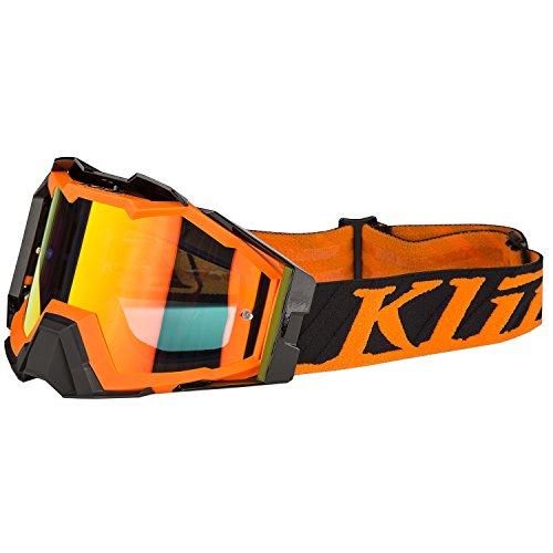 Klim Viper Pro Flatline Orange Mirror Lens Mens Motocross Goggles