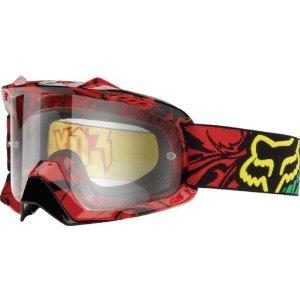 Fox Racing AIRSPC Goggle - Encore RastaClear Lens