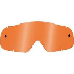 Fox Racing AIRSPC Lexan Anti-Fog Adult Replacement Lens MotoX Motorcycle Goggles Eyewear Accessories - Contrast Orange  One Size