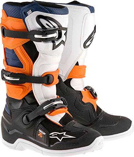 Alpinestars Tech 7S Youth Motocross Boots - BlackOrange - Youth 6