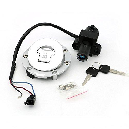 Alpha Rider Ignition Switch Lock Fuel Gas Cap Cover Keys Set For HONDA CB-1 400 BROS400 BROS650 HONDA CBR1100XX 1997-1998 HONDA CBR600 F2 F3 1993-1998 HONDA CBR900 CBR919 893