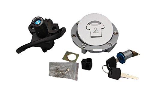 Alpha Rider Ignition Switch Lock Fuel Gas Cap Cover Keys Set For Honda CBR600 F2 1991 - 1994  F3 1995 - 1998 NSR250 MC18 MC21