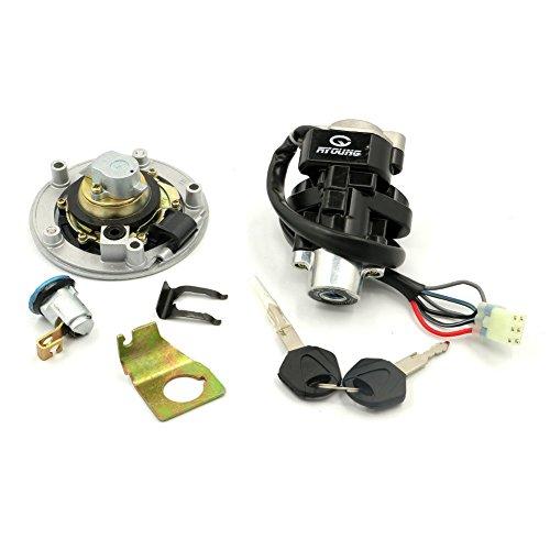 Alpha Rider Ignition Switch Lock Fuel Gas Cap Cover Keys Set For Suzuki GSXR 600 GSXR 750 2004-2005 K5 Suzuki SV 1000S 2003-2008