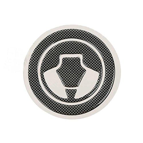Fuel Gas Cap Cover Pad Sticker For Kawasaki ER6N Ninja 1000 650R ZX14 2006-2014