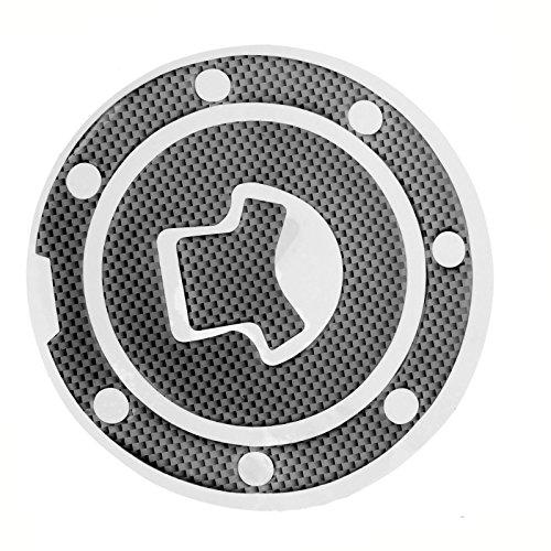 Mtsooning Carbon Fiber Fuel Gas Cap Cover Pad Sticker Decal For Honda CBR 600RR 1000RR