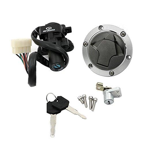 Unlimited Rider Ignition Switch Lock Fuel Gas Cap Cover Seat Lock Keys Set For Kawasaki Ninja 300 EX300A SE 14-15  Ninja 300 EX300A 13-15  Ninja 300 EX300B ABS SE 2014  Ninja 300 EX300B ABS 2013
