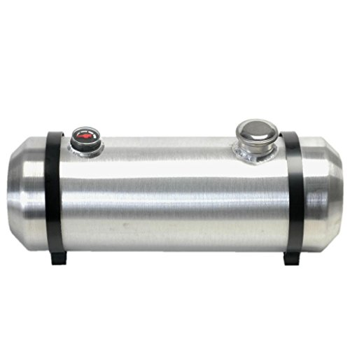 10 Inches X 40 Spun Aluminum Gas Tank 135 Gallons With Sight Gauge For Dune Buggy Sandrail Hot Rod Rat Rod Trike 38 NPT Outlet