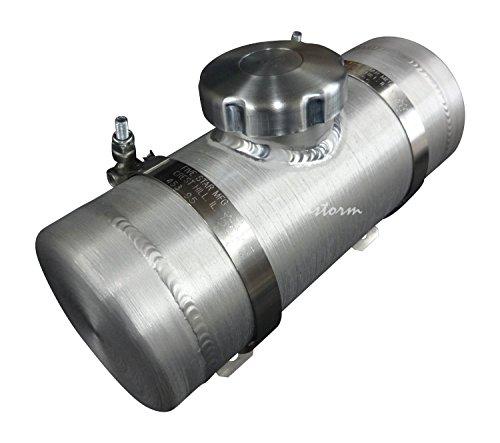 6x22 Center Fill Spun Aluminum Gas Tank 22 Gallon - 14 NPT- Tractor Pulling - GO-Kart Mini Bike - Made in the USA
