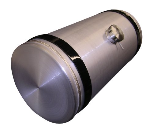 Sandstorm 12x30 Center Fill - Spun Aluminum Gas Tank with Vent Tube - 15 Gallon - Offroad - Trike - Sandrail - Dune Buggy - Made in the USA