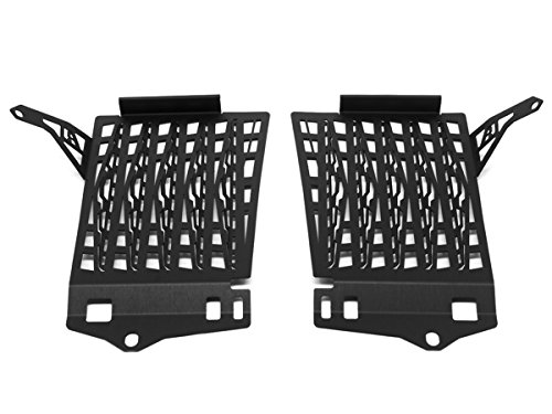 AltRider R117-2-1102 Radiator Guard for the BMW R 1200 GS Water Cooled 2017-current - Black