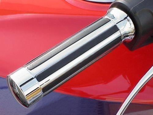 i5 Chrome Hand Grips for Honda Kawasaki Suzuki Yamaha Cruisers