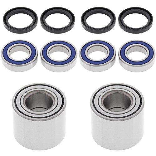 ALL BALLS All Bearing Kit for Front and Rear Wheels Kawasaki Mule 3010 4X4 01-08