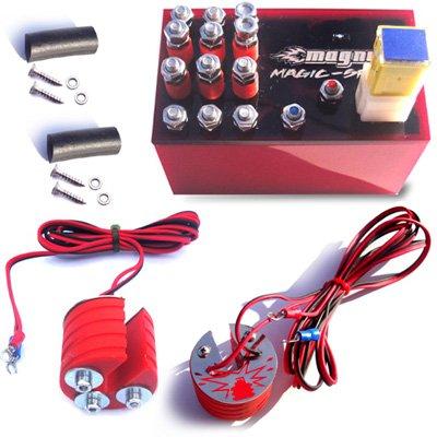 Magnum Magic-Spark Plug Booster Performance Kit Kawasaki ZZR-1100 Ignition Intensifier - Authentic