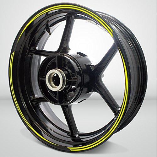 Vector Outer Rim Liner Stripe for Kawasaki ZZR 1100 Fluorescent Yellow