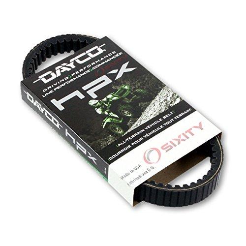 2006-2008 Kawasaki Brute Force 650 Drive Belt Dayco HPX ATV OEM Upgrade Replacement Transmission Belts