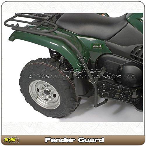 Kawasaki Brute Force 650 Straight Axle 2005-13 Quad ATV Fender Guard Foot Rest Hunter Trail Serie