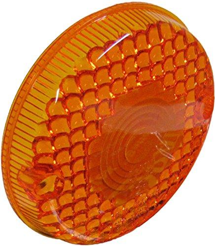 Kawasaki KL 250 Indicator Lens Front RH Amber 1979