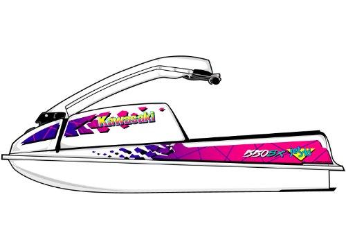Kawasaki 550550 SX440400 Graphic Kit - EK0013K550