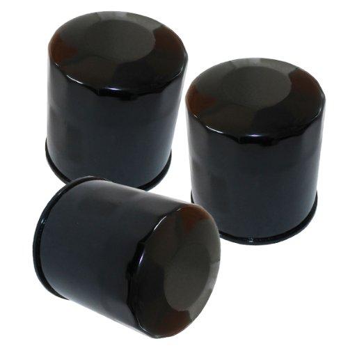 Caltric 3-PACK Oil Filter Fits KAWASAKI 800 VN800 VULCAN VN-800 CLASSIC DRIFTER Z800 1996-2006 2013 2014