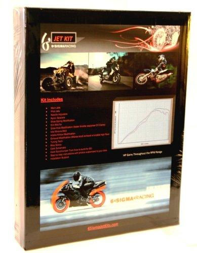 Kawasaki KH400 KH 400 S3 Triple 6 Sigma Custom Carburetor Carb Stage 1-7 Jet Kit